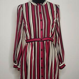 Michael Michael Kors Pintuck-Trim Shirtdress, P/S